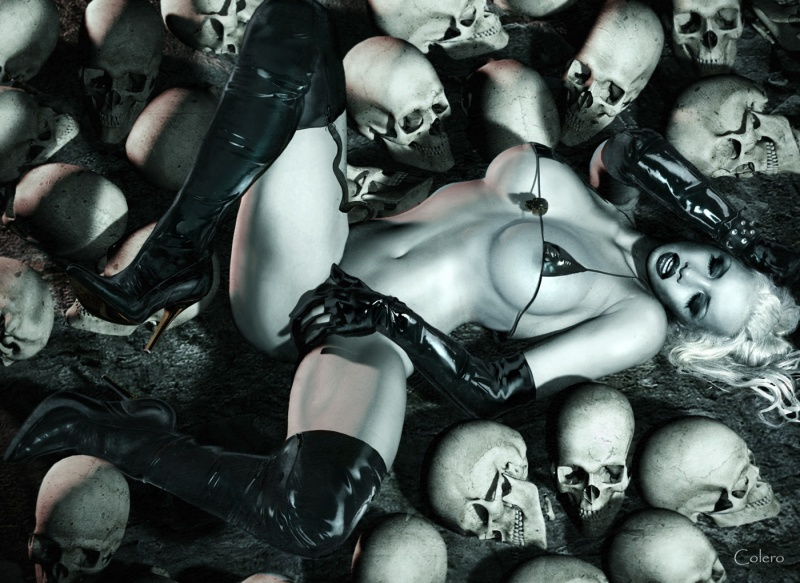 Jul 08, 2010 Bruce Colero Lady Death - Model Frankie