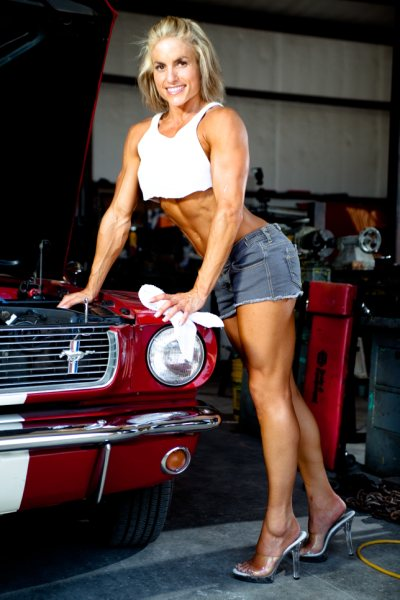 Female model photo shoot of Ashley Reese by N C PHOTOGRAPHY in Texas Garage