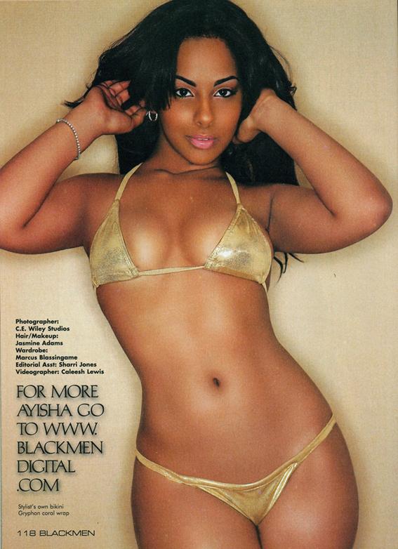 New JERSEY Jul 09, 2010 BLackmen Magazine BlackMen Magazine Nicky Minaj Issue: Model Ayisha Diaz(page 118)
