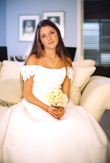 Jul 10, 2010 Marshall Thurman Jessica Miller- wedding dress