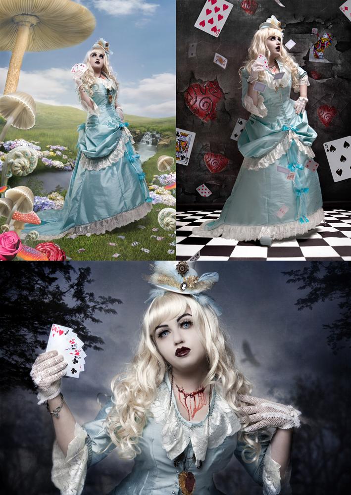 London Jul 10, 2010 Taya Udin Alice Got Her Neck Slashed in Wonderland