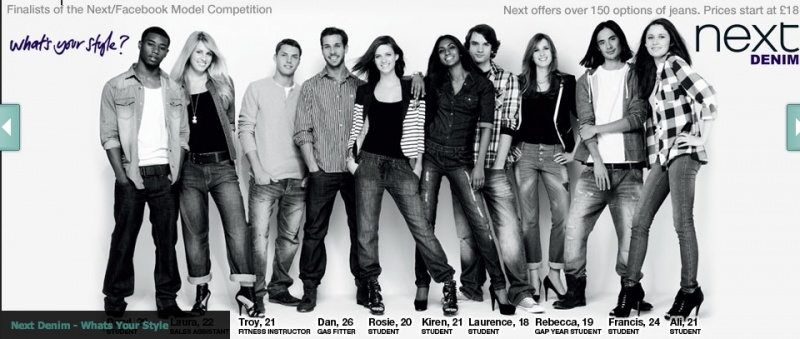 Jul 11, 2010 Make me the Next Model Competition - Top 10 Winners. Nexts 2010 Denim Campaign.