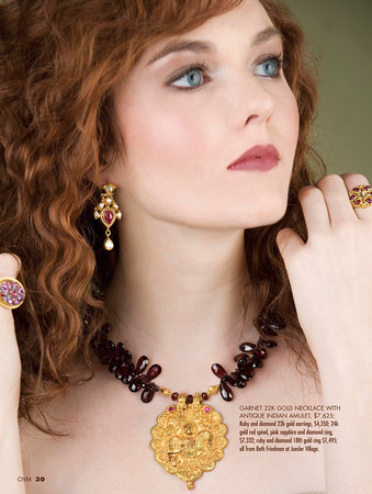 Tucson Jul 12, 2010 Oro Valley and Marana Magazine Editorial jewelry spread - Photographer: Jennifer Polixenni Brankin