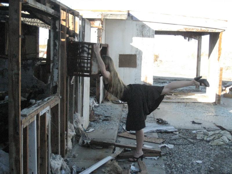 Death Valley, California Jul 12, 2010 Elite Image Landscape Burnt House