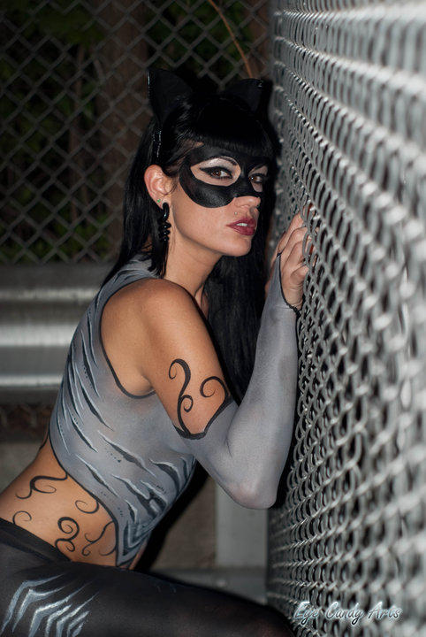 Jul 12, 2010 Body paint by Jennifer Baxter-Photo by Ryan Baxter- Sexy Catwoman-ME!
