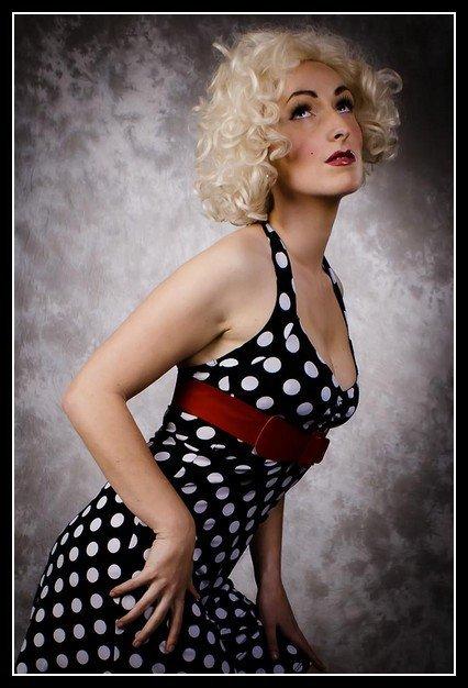 Female model photo shoot of HF Miss Bella in Red Rua Tallaght