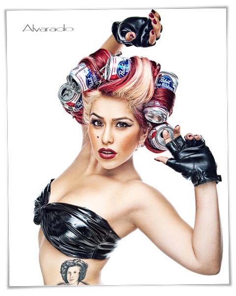 Studio Jul 14, 2010 Robert Alvarado Jessica Lady Gaga Inspired