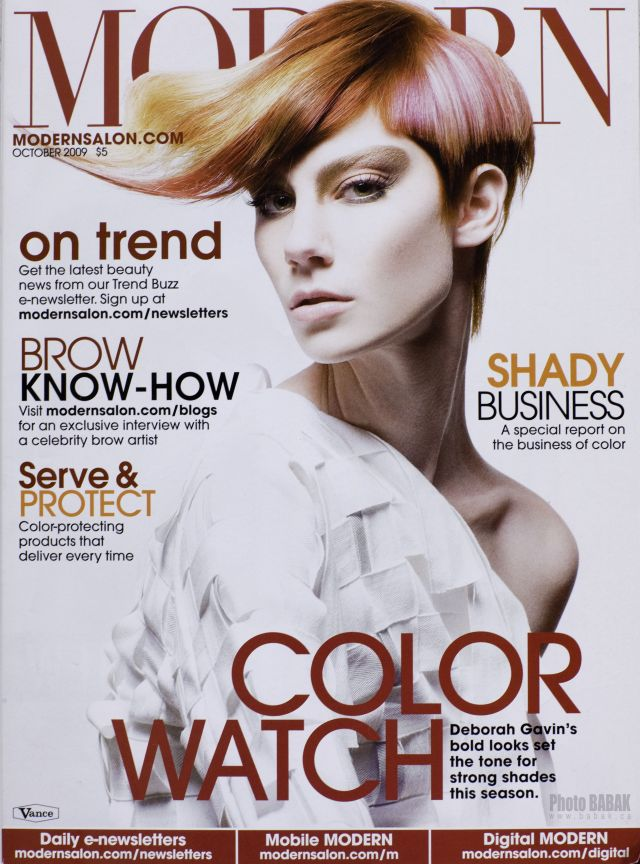 Toronto, Ontario Jul 16, 2010 October 2009 - Modern Salon Magazine