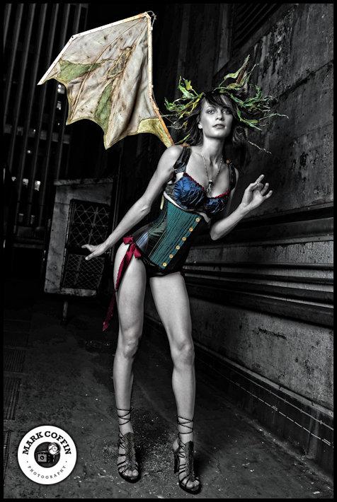 Female model photo shoot of Alluring Look  in Benson Hotel