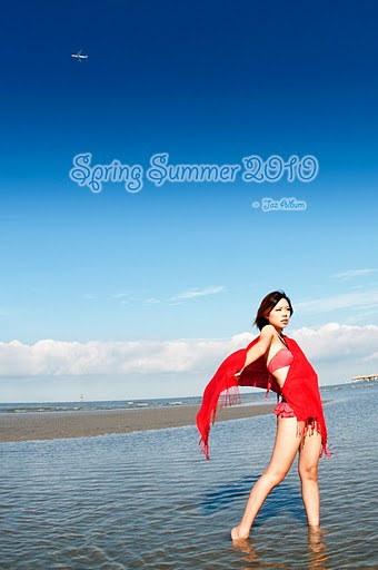 Male model photo shoot of Jaz4lbum in Selangor's beach