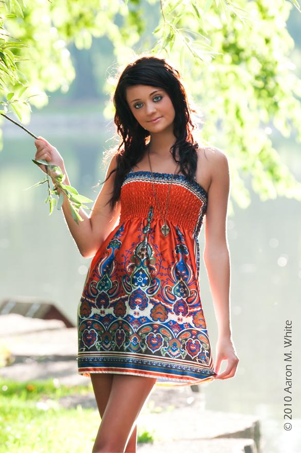 Female model photo shoot of ABYA BELLA by Aaron M White