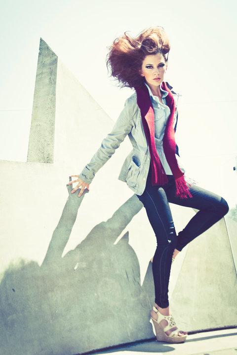 LA Jul 21, 2010 Christianne Taylor Freedom and Fashion Magazine Editorial 2010