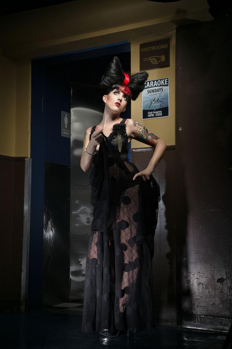 Hotel Congress Jul 24, 2010 © siobhan /cody conrad 2010 boudoir baby sheer dress