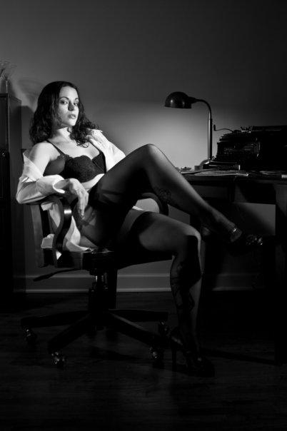 Chicago. 2009. Jul 25, 2010 Sean O Connor Photography. At Dick Tracys Desk...