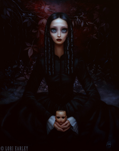 Jul 26, 2010 ©Lori Earley Belladonna, Oil on Board 2004.***Prints of this painting are available at www.loriearley.com/prints***