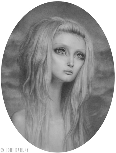 Jul 26, 2010 ©Lori Earley Awaiting, Graphite on Paper 2008. ***Prints of this drawing are available at www.loriearley.com/prints***