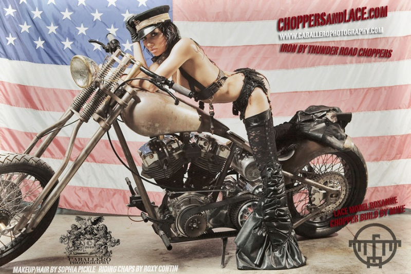 Los Angeles Jul 26, 2010 caballero photography choppers and lace