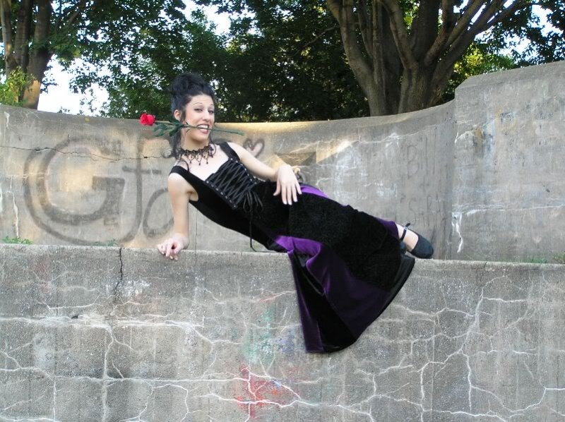 Female model photo shoot of MissTree