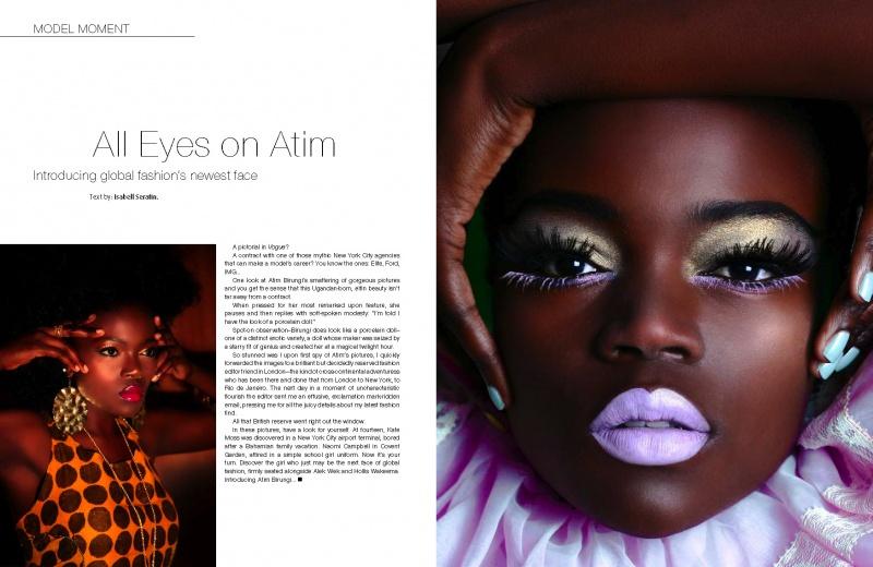 Female model photo shoot of Atim pOyat