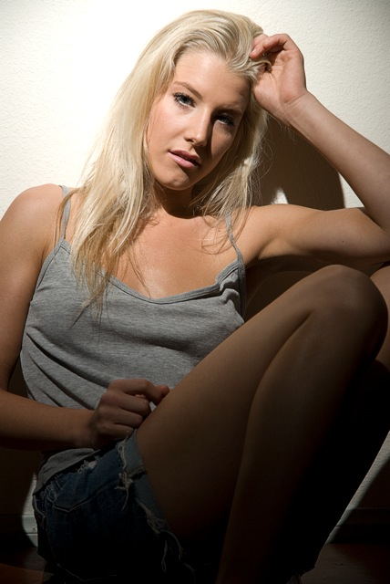 Female model photo shoot of Brittany Schaefer by luciophoto in My House