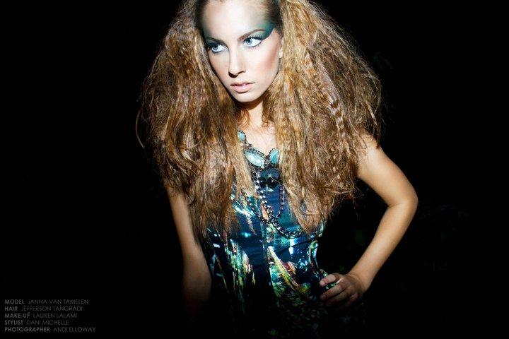 Female model photo shoot of Lauren Lalami in Hollywood, CA