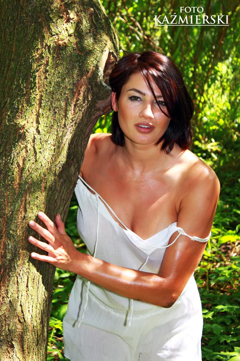 Ciazen, Poland Jul 29, 2010 Piotr Kazmierski Sexy model
