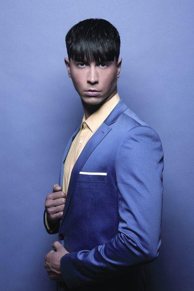 Male model photo shoot of Josh Hendriks by Barry Jeffery in London