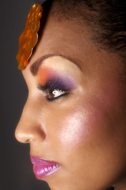 Female model photo shoot of Vanessa Velour by Nikki O Photo