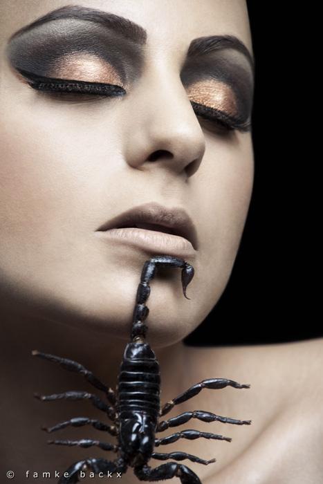 The Netherlands Aug 05, 2010 Famke Backx Scorpion Beauty