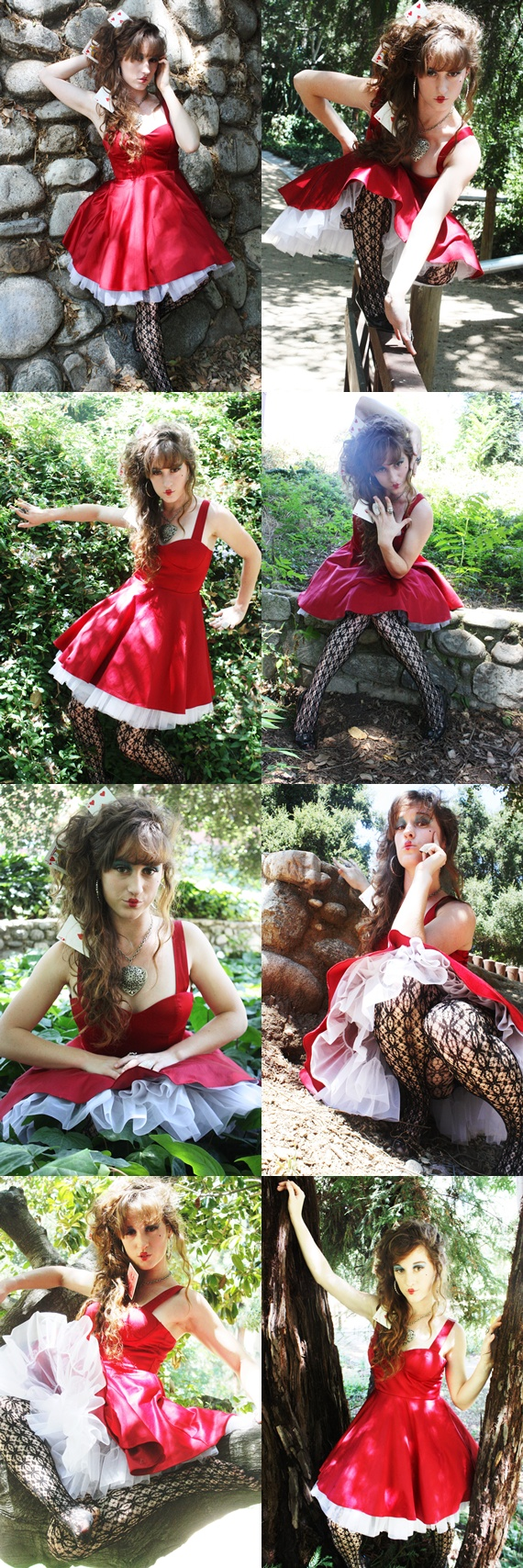 Alice and Wonderland Park Aug 05, 2010 Payton Trixx, Andrew Vasquez Queen of Hearts =Love (Edit by Trixx)