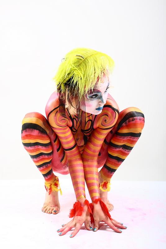 Kalamazoo, MI Aug 06, 2010 Art and Body Studios Lifes a Circus