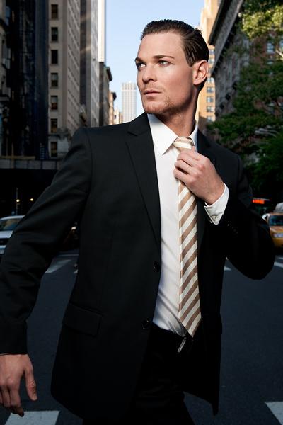 Male model photo shoot of Nico W in New York City