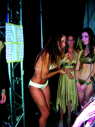 Male model photo shoot of South Beach News in Back Stage