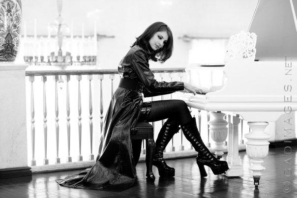 Female model photo shoot of Riladel by Jens Gad
