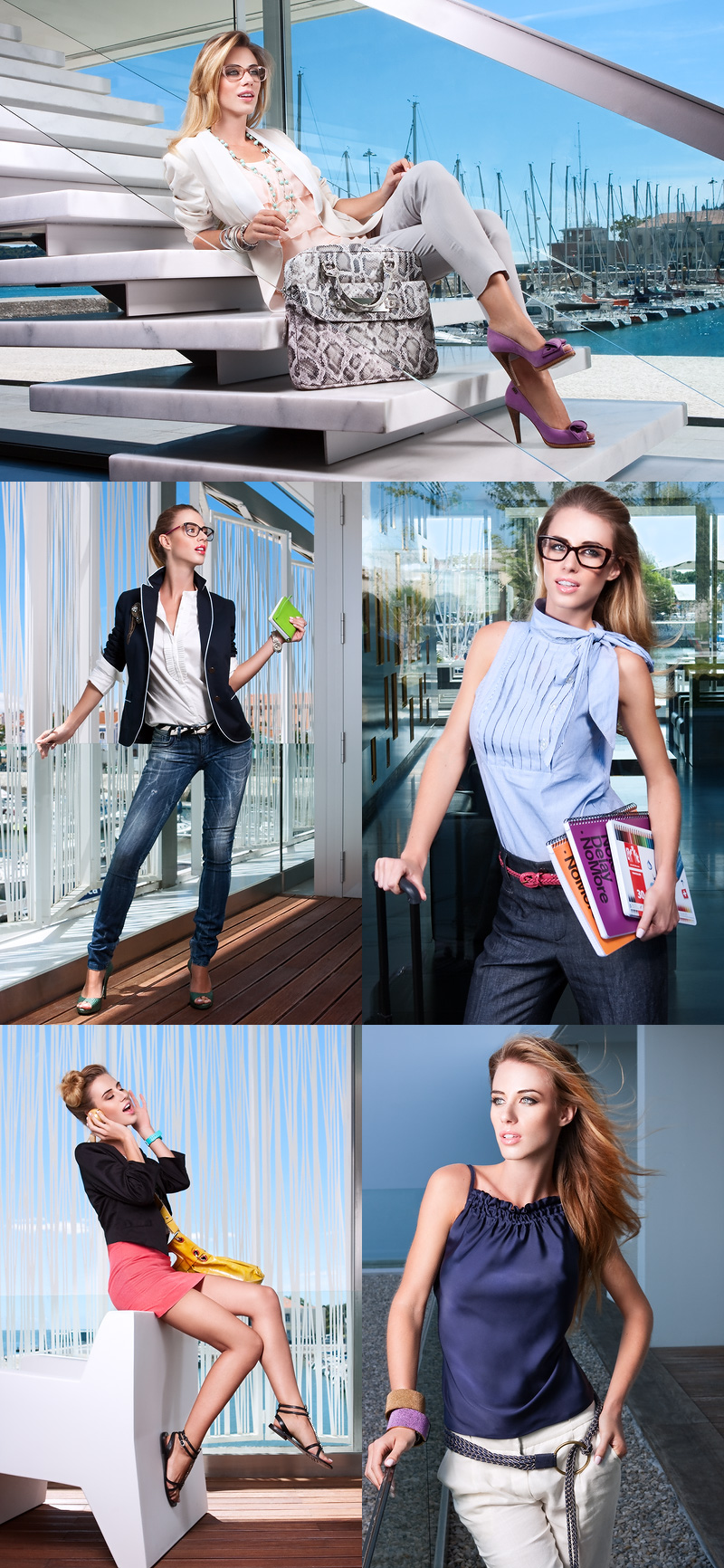 Aug 10, 2010 Photographed by Luis Eca Cosmopolitan August - Dressed for Work (see larger images http://www.behance.net/gallery/Fashion-Editorial-for-Cosmopolitan-Portugal/574167)