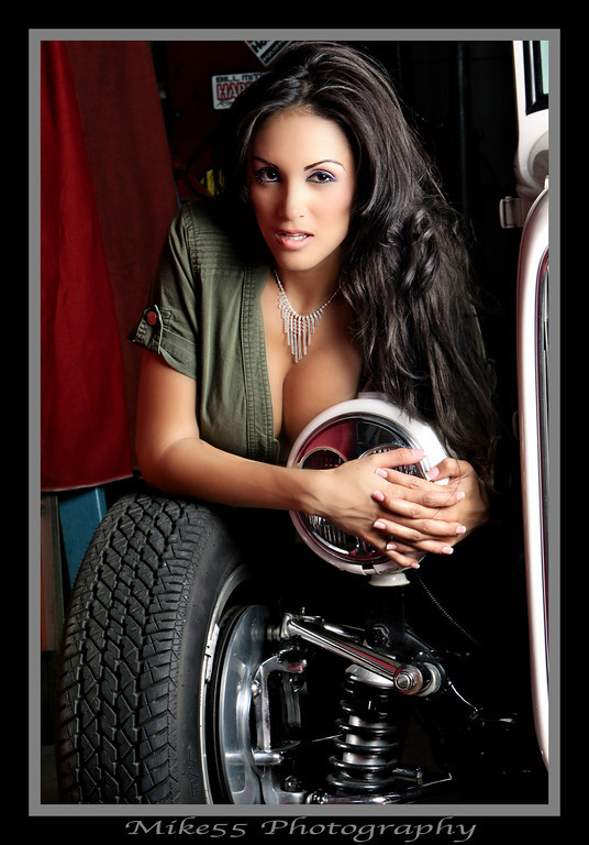 Garage Shoot Aug 10, 2010 Mike55 Photography Stefany