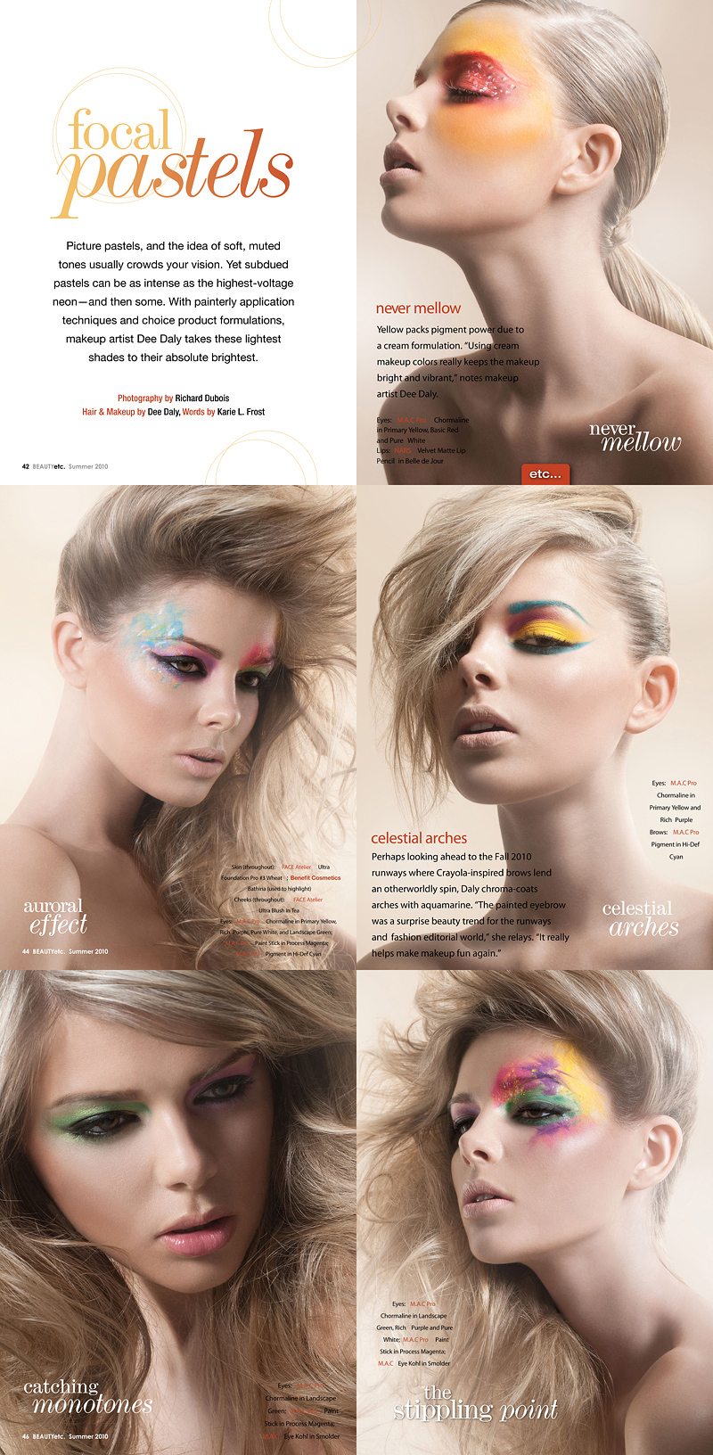 Aug 10, 2010 Photo: Richard Dubois Beauty Etc Publication