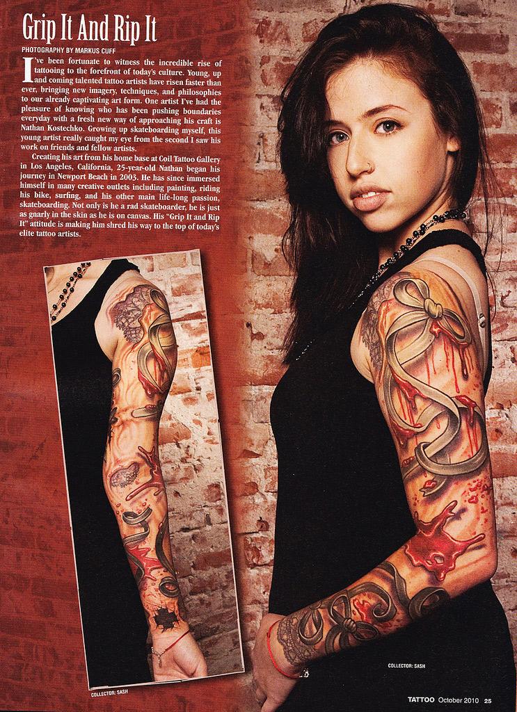 Aug 12, 2010 Tattoo Magazine (August 2010)