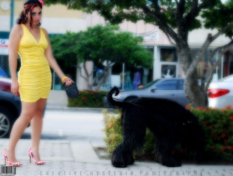 Female model photo shoot of Natalia Ballesteros in Hollywood , FL