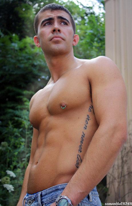 Male model photo shoot of Eugene Landry in Etna Green, IN