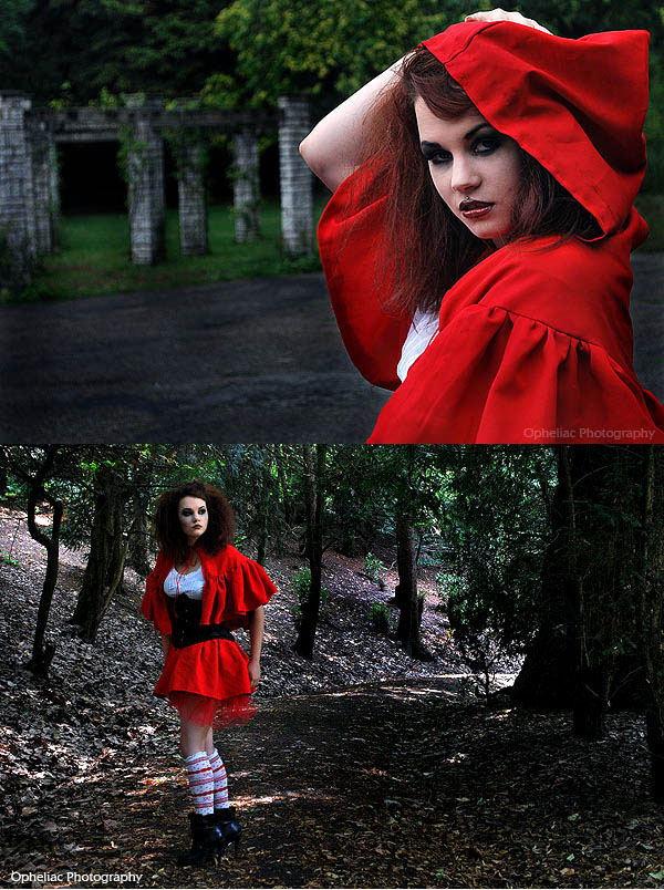 Aug 15, 2010 Opheliac Photography (MUA: cadavre_exquis) red riding werewolf