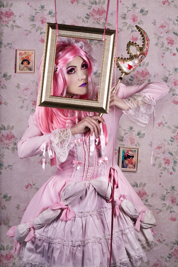 Aug 15, 2010 Sweet Lolita Silent Show. Styling and Hair by me.