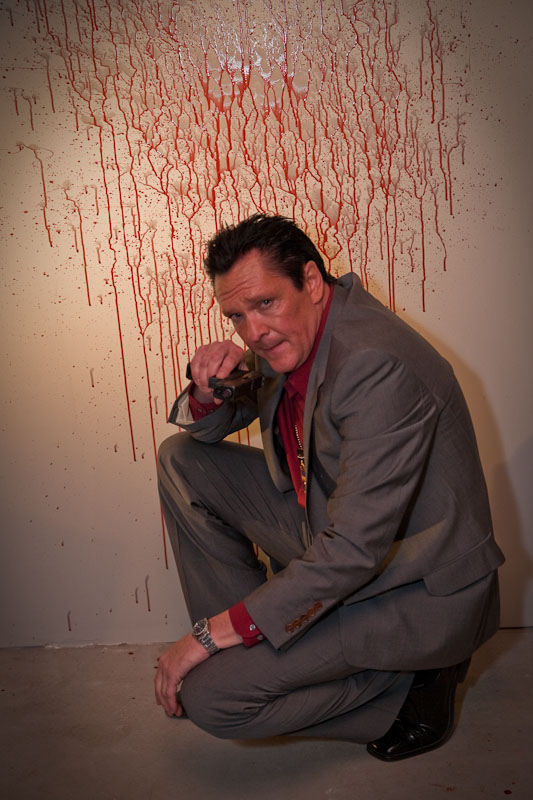 Aug 15, 2010 Michael Madsen on set!