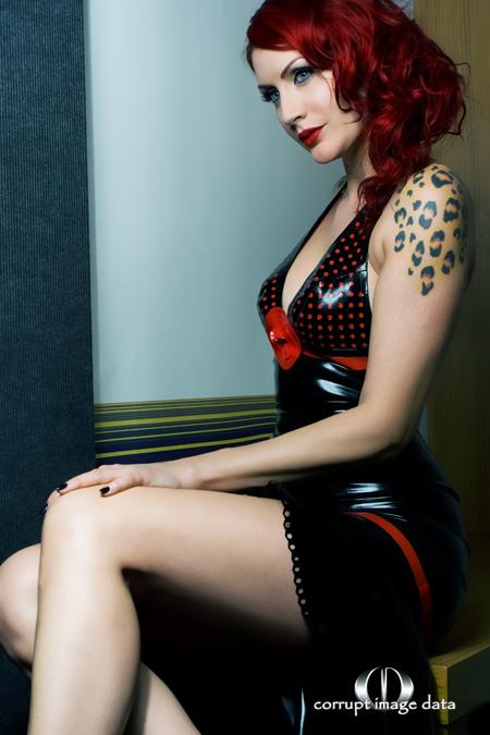 Aug 16, 2010 http://www.etsy.com/listing/45850706/latex-polka-dot-dress-mademoiselle