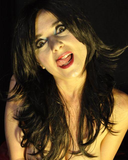Culver City, CA Aug 17, 2010 dennis james photo art Mz Maude Licks Lips