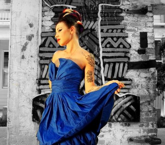 Female model photo shoot of TATTOO GIRL in Studioplex, ATL