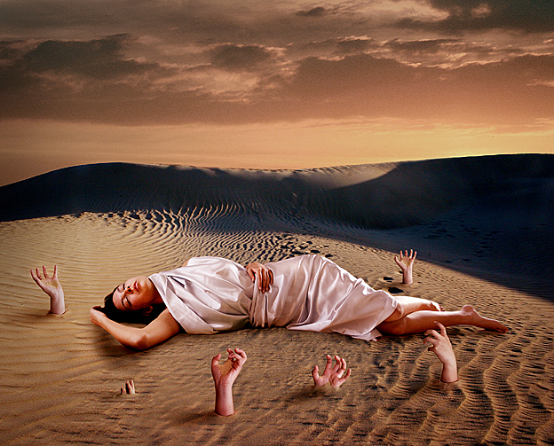 Osaka and West Australian sand dunes in Geraldton Aug 18, 2010 yes The Awakening