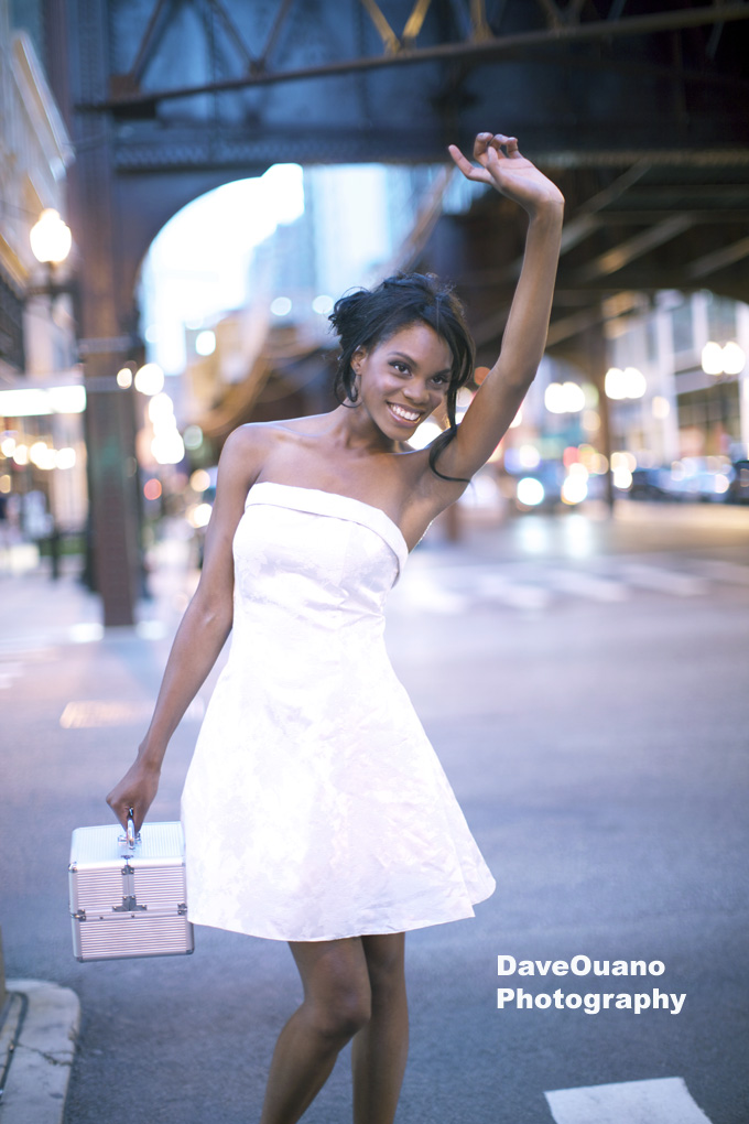 Chicago Aug 18, 2010 DaveOuanoPhotography Model: Shaina [Factor Runway], Make-Up/Hair: Natalie Fisk, Dress: Stiletto Squad