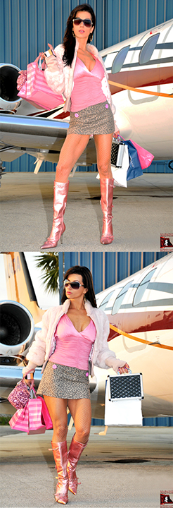 Fort Lauderdale Airport Aug 19, 2010 Madness Modeling, Inc. Model Stella Vidal