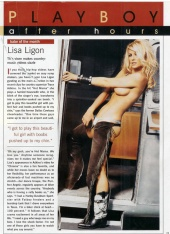 Lisa ligo nude pics